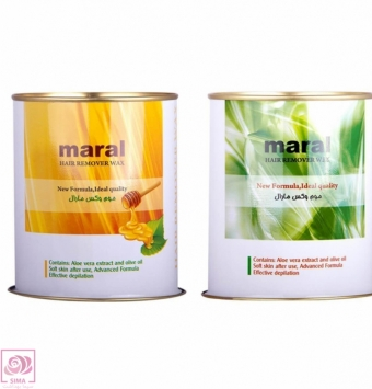 موم وکس مارال-700 گرمی ( مخصوص موهای نرمال و ضخیم )