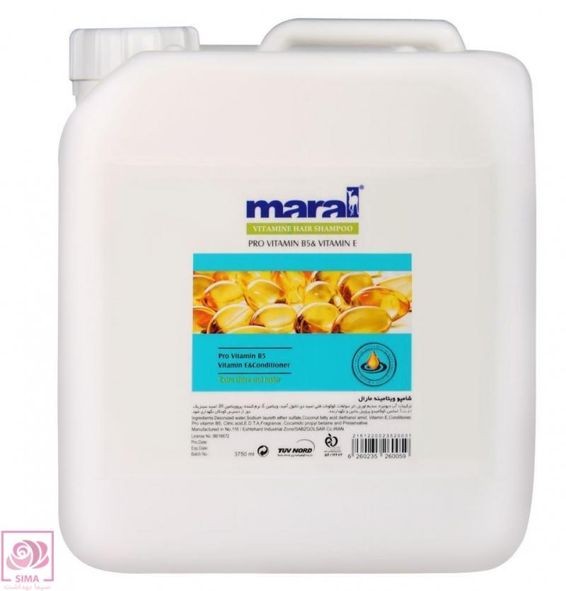 شامپو ویتامینه مارال-4 لیتری