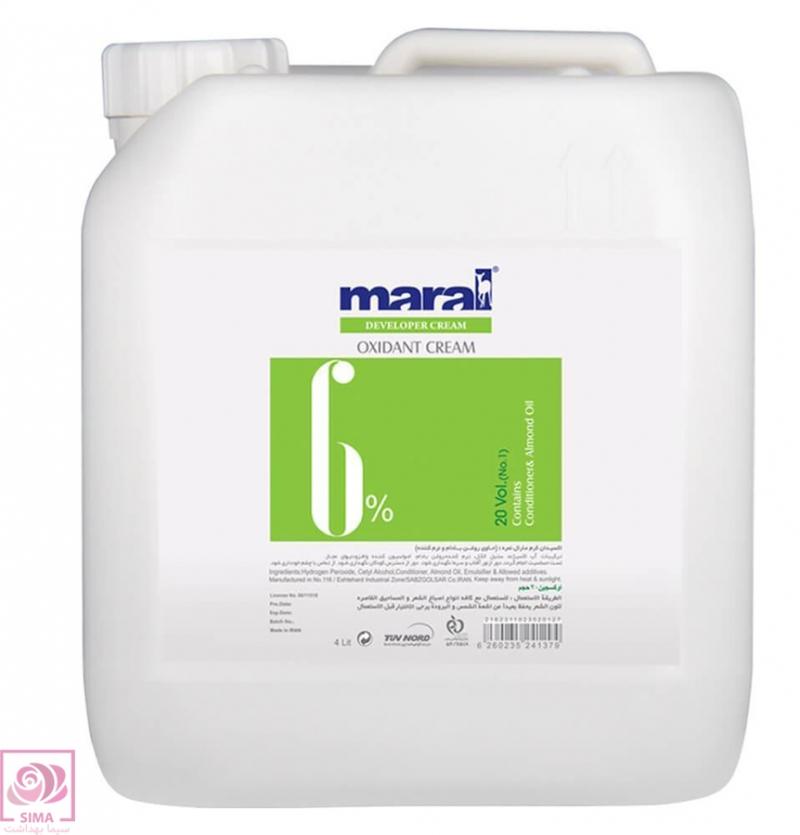 اکسیدان کرم مارال (6%) - 4 لیتری