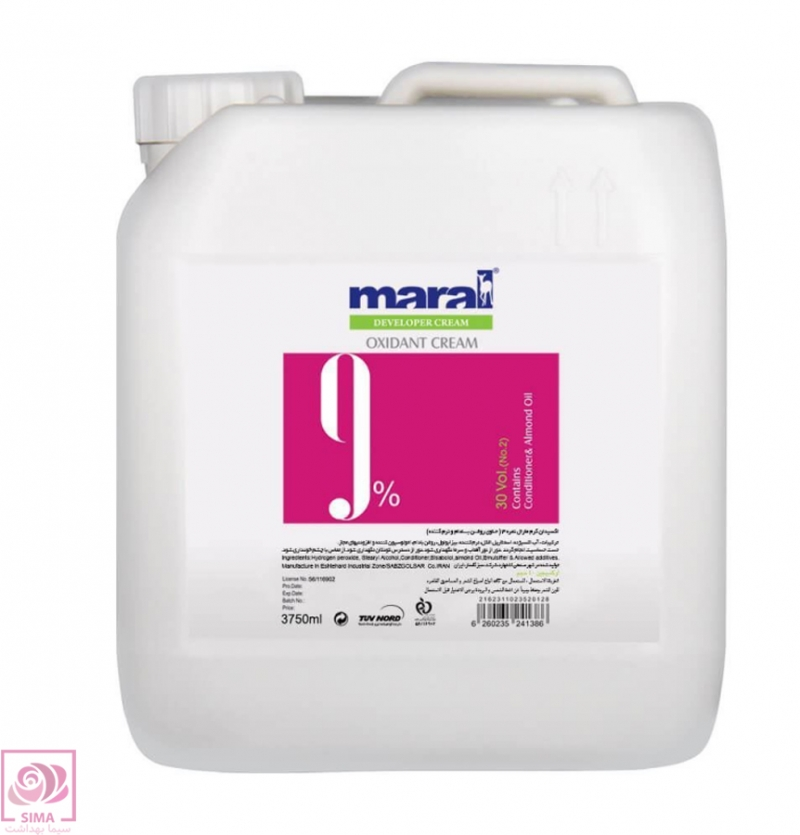 اکسیدان کرم مارال (9%) - 4 لیتری